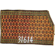 Turkish handmade Turkeman Rug, approx.1'-11X3'-o