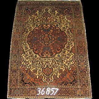 Persian Handmade Farahan Rug Approx. 4'-3X6'-3