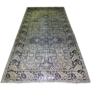 Russian handmade Karabagh Rug Approx. 6'-7X16'-0