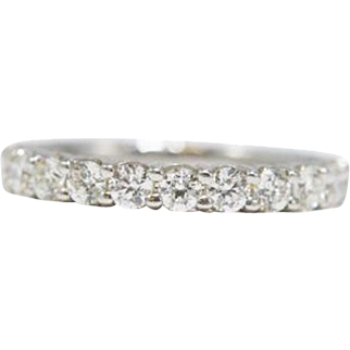 Eternally Diamonds Forever Eternity Band in Platinum