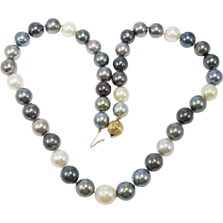 Pearls of Wisdom Tahitian & South Sea Pearl Necklace