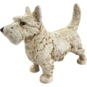 Cast Iron Westie Dog Doorstop - West Highland Terrier