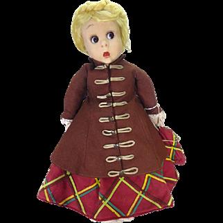 Rare Lenci Googly doll.