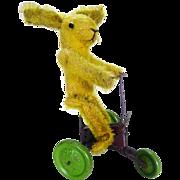 Rare French Pintel clockwork rabbit.
