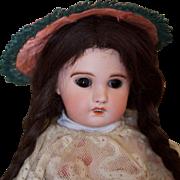 SFBJ Paris French bisque head doll
