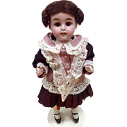 All bisque doll - German maker - 9 inches