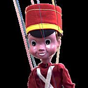Rare Pelham puppet - Bom, Enid Blyton character