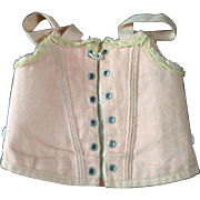 Original dolls corset from French doll