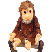1950's Chimpanzee jointed toy