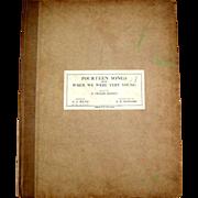 Winnie the Pooh - Fourteen Songs   4th edition,  c.1925