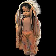 Rare Lenci Indian boy