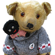 Deans Mouse Eared Bear with friend