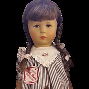 Kathe Kruse doll in box 1990's
