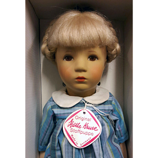 15 inch Kathe Kruse doll in original box