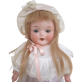 Pretty shoulder head German doll