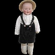 Gerbruder Heubach character boy doll