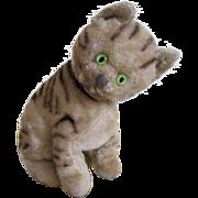 Steiff seated cat
