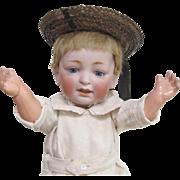 Kestner character doll - Rare slanted joints toddler body