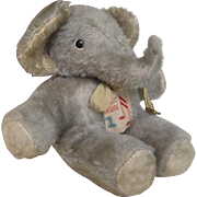 Musical Elephant cot toy with Swiss movement