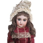 A size 6 Jumeau doll with marked head and body