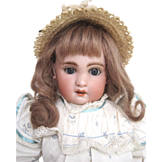 1907 Jumeau French bisque headed doll