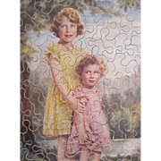 Princess Elizabeth and Princess Margaret Chad Valley Jigsaw