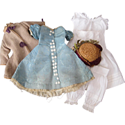 Dolls clothing for wax or fashion doll