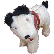 Fox Terrier dog purse or bag c1930's