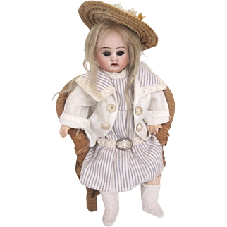 "Armand Marseille 1894  Antique bisque doll 7"" fully jointed"