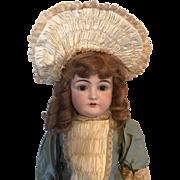 Kestner 146 Antique Bisque Headed Doll 75 cm