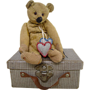 Steiff bear 1920's with his own suitcase