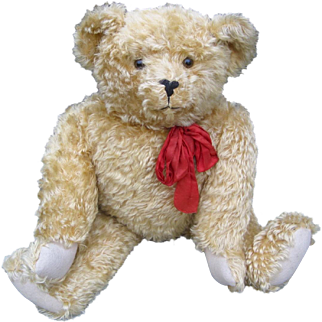 Large French Teddy bear made by Murcy