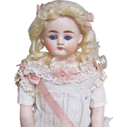 Antique doll by Alt Beck and Gottschalk, belton head and closed mouth