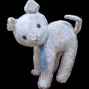 White Mohair Cat C.1920