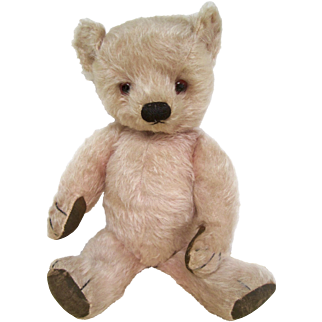 Pink mohair Chad Valley Teddy Bear