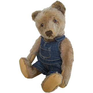 Stiff bear with button c.1950's