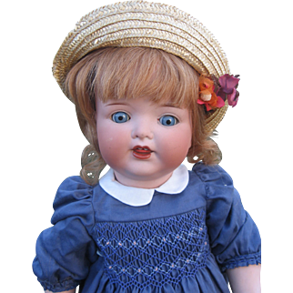 AM 1330 toddler bisque headed doll