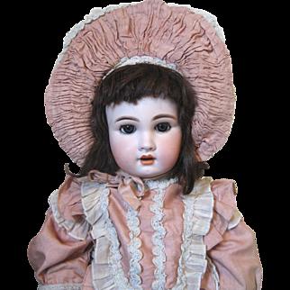 "27"" French market antique bisque head doll"