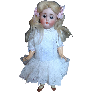 Kestner 155 bisque headed doll 8 inches