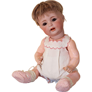 Kammer and Reinhardt 122 character baby bisque head doll