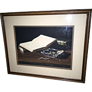 Jerry Weers-Still Life-Watercolor-1979 - Red Tag Sale Item