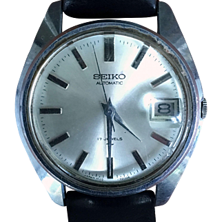 Seiko 17 Jewels Automatic Men's Watch-Japan 1960s