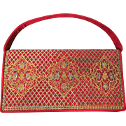 Nettie Rosenstein Brocade Evening Purse