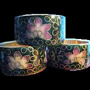 Chinese Cloissone Napkin Rings