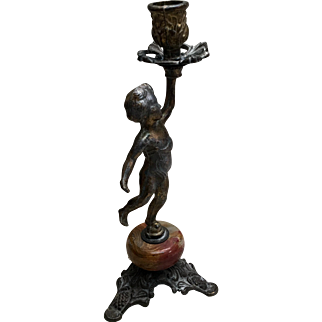 Candle Stick Early 20 C. Italy
