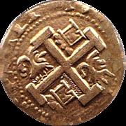 Spanish 8 Real Gilded Coin -Faci simil
