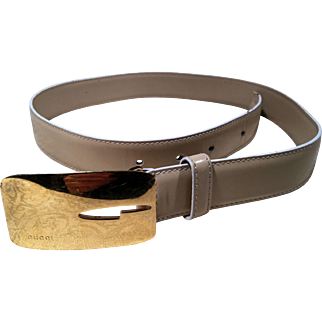 Beige Female  Belt By Gucci
