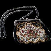 1960 s Women's Tapestry Shoulder Purse- Clutch