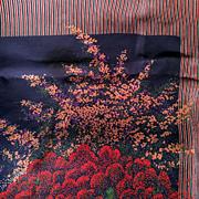 Christian Dior Printed Silk Scarf  c.1960