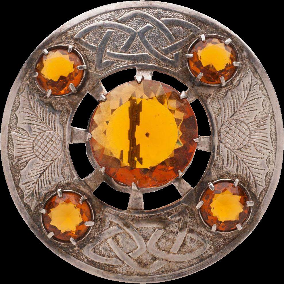 Scottish sash pin